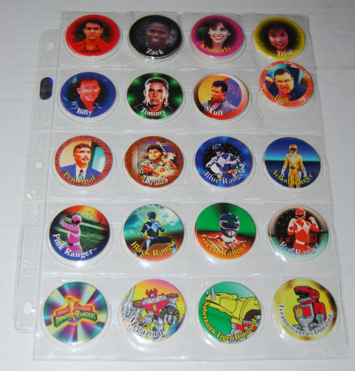 Pogs power rangers