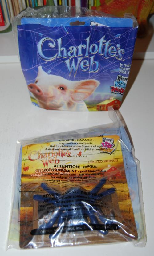 Charlotte's web prizes 2