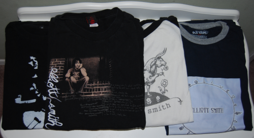 Elliott smith t shirts