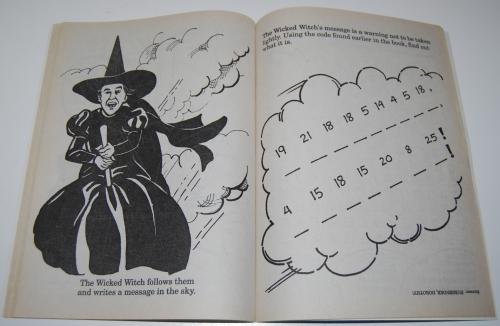 Wizard of oz golden coloring book 9