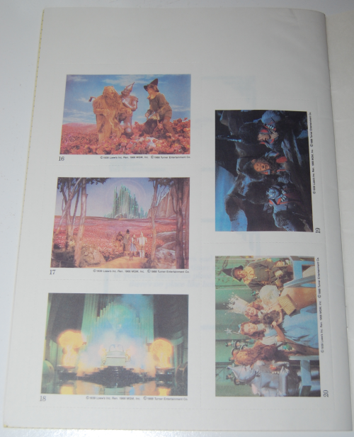 Wizard of oz golden sticker book 4