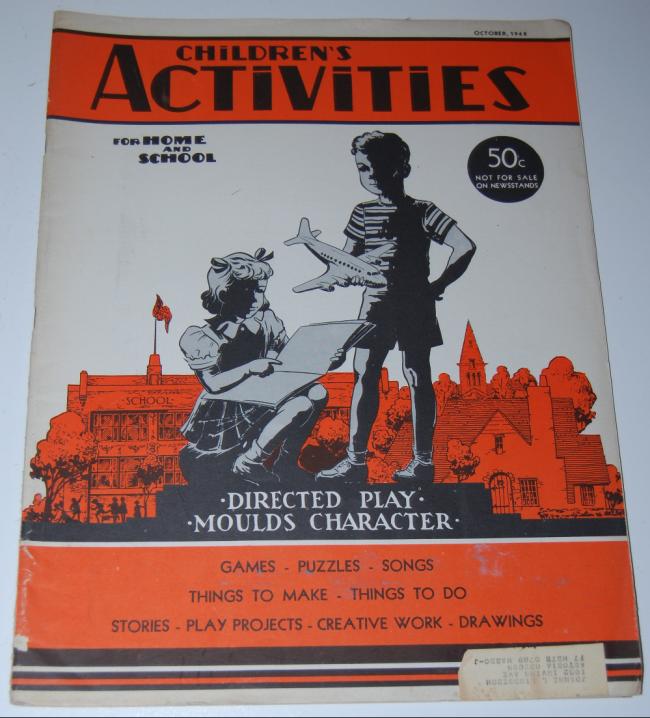 children's activities ~ october 1948