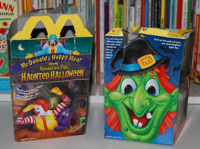 vintage vhs ~ ronald mcdonald's haunted halloween