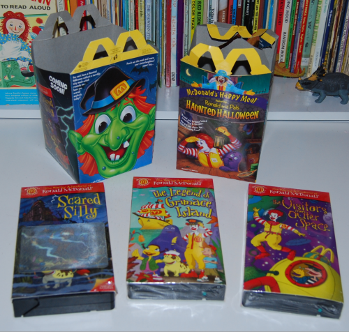 Ronald mcdonald & pals haunted halloween happy meal
