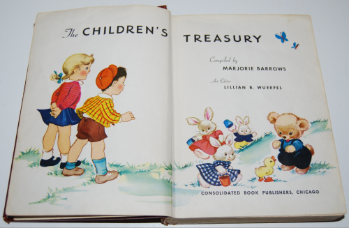The children's treasury vintage books 1