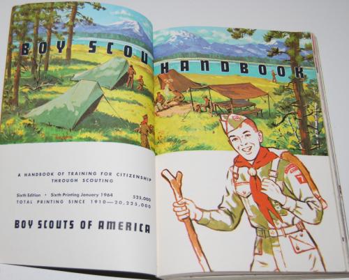 Vintage boy scout handbook 1