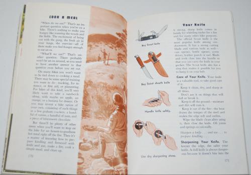 Vintage boy scout handbook 8