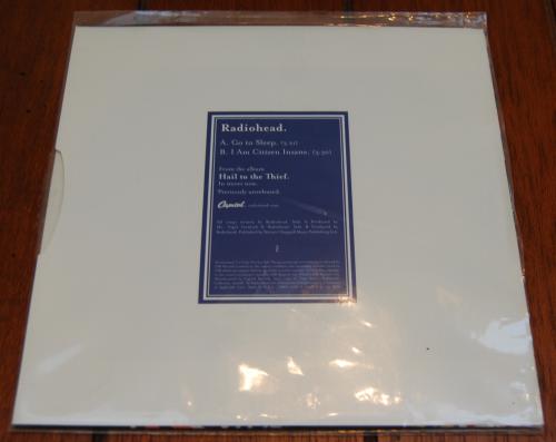 Thom yorke vinyl 1x