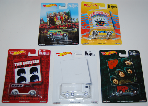 Hot wheels beatles cars