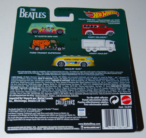 Hot wheels beatles cars 5x