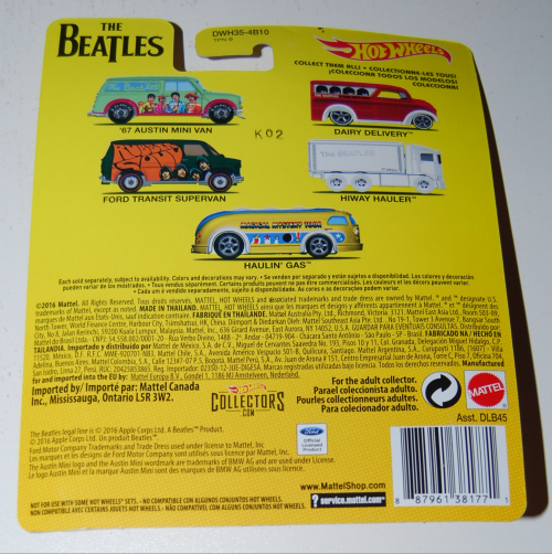 Hot wheels beatles cars 4x