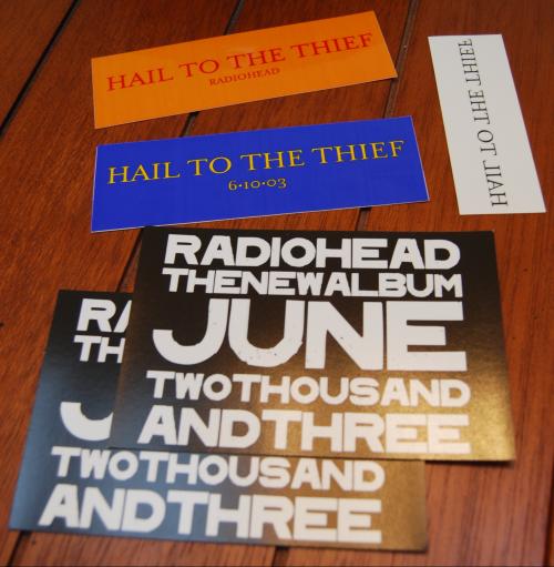 Radiohead ephemera 6