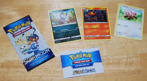 Lucky charms pokemon cards sun & moon x