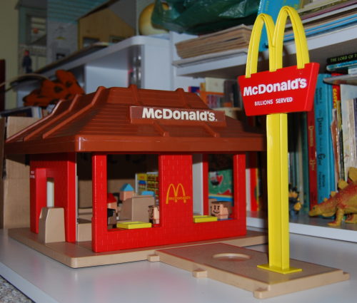 Playskool mcdonalds x