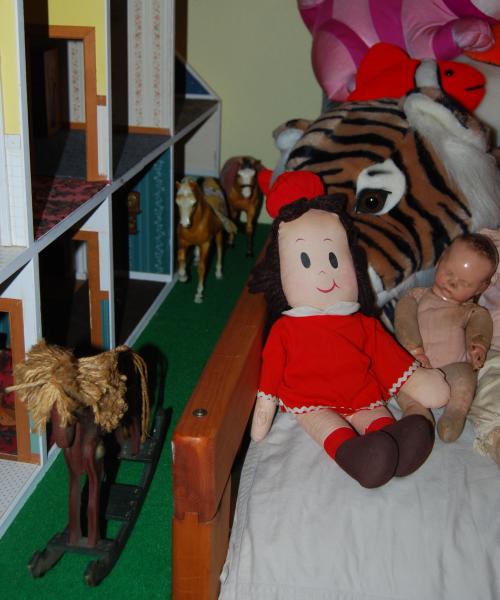 Vintage little lulu plush doll