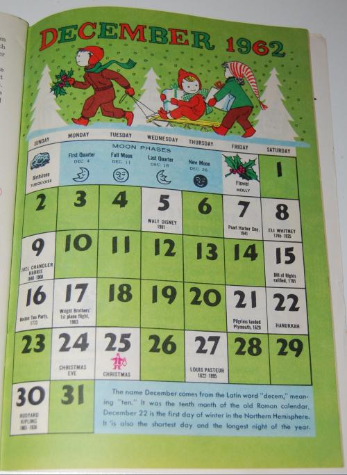 Jack & jill december magazine1962 10