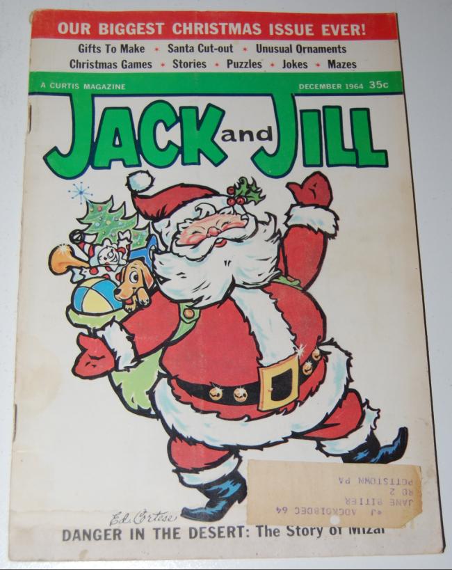jack & jill magazine ~ december 1964