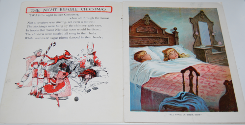 The night before christmas vintage book 2