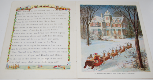 The night before christmas vintage book 3