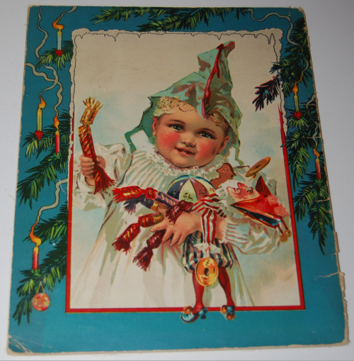 The night before christmas vintage book x