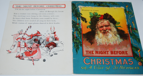 The night before christmas vintage book 1