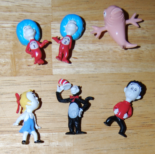 Mini seuss figures