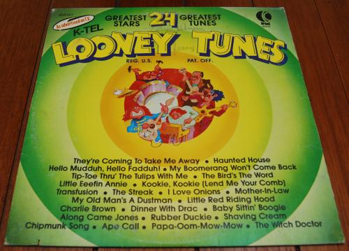 Looney tunes vinyl