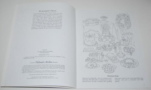 Dover xmas around the world coloring book 2