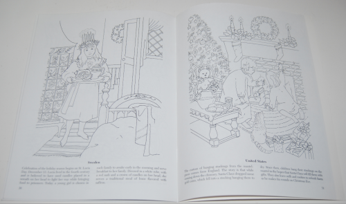 Dover xmas around the world coloring book 7