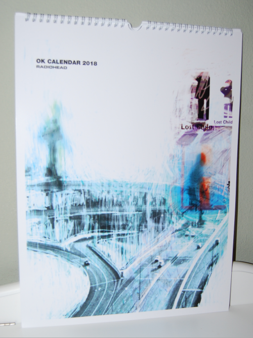 Radiohead ok calendar 2017