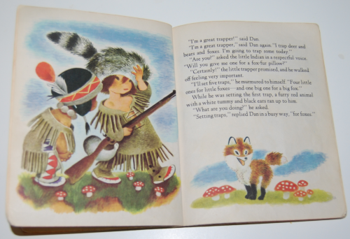 Little golden book the little trapper 5