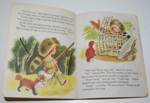 Little golden book the little trapper 6