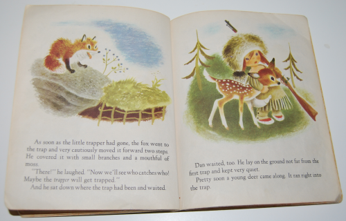 Little golden book the little trapper 7