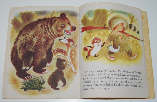 Little golden book the little trapper 11