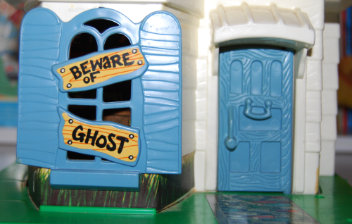 Hasbro weeble ghost house 1976 5