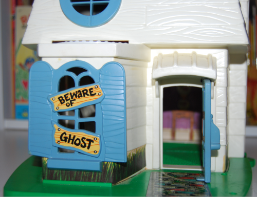 Hasbro weeble ghost house 1976 7