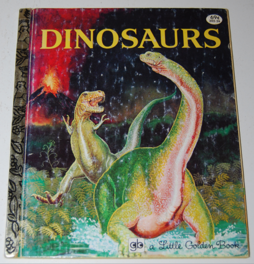 Little golden books dinosaurs