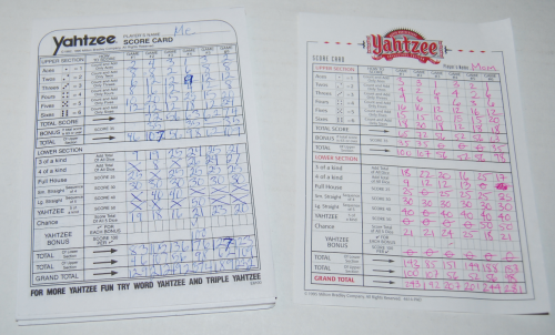 Yahtzee collector's edition game 4