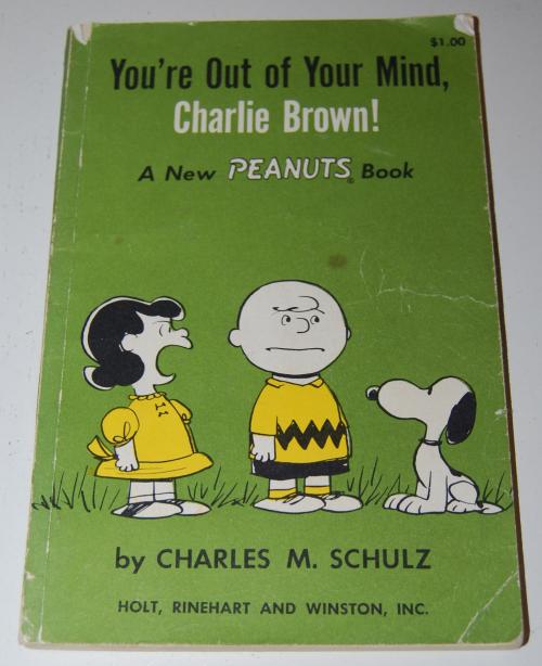 Vintage peanuts books