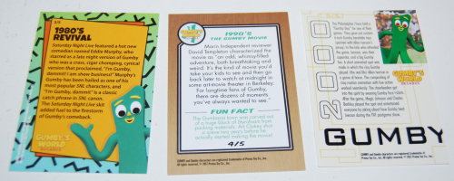 Gumby's world cards 2