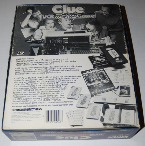 Clue vcr mystery game 15