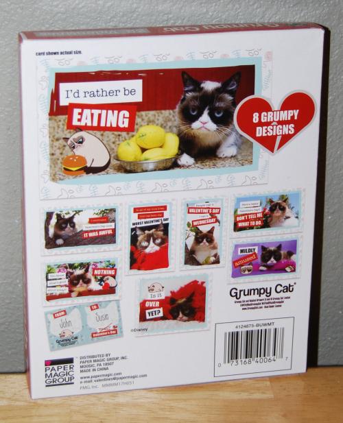 Grumpy cat valentines x