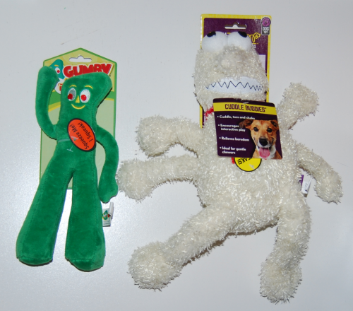 Gumby dog toy 3