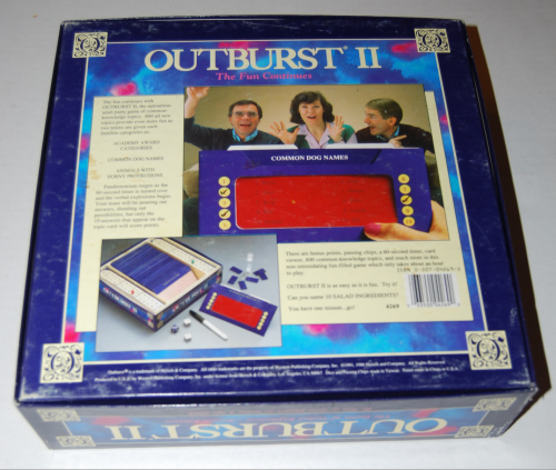 Outburst 2 board game x