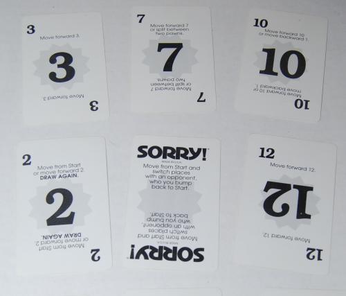 Sorry board game 3
