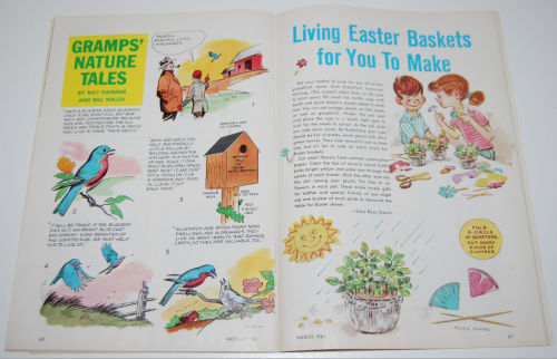 Jack & jill magazine march 1964 12
