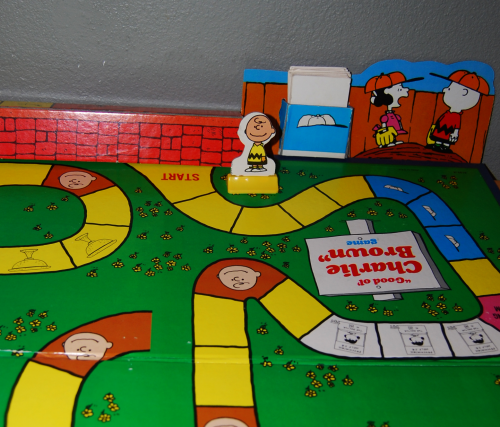 Charlie brown milton bradley board game 9
