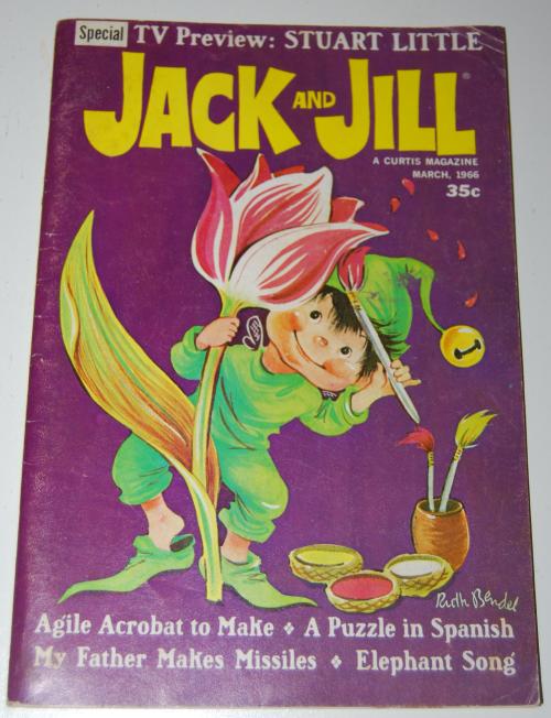 Jack & jill magazine march 1966