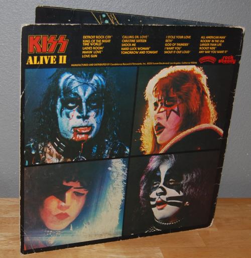 Kiss alive 2 3