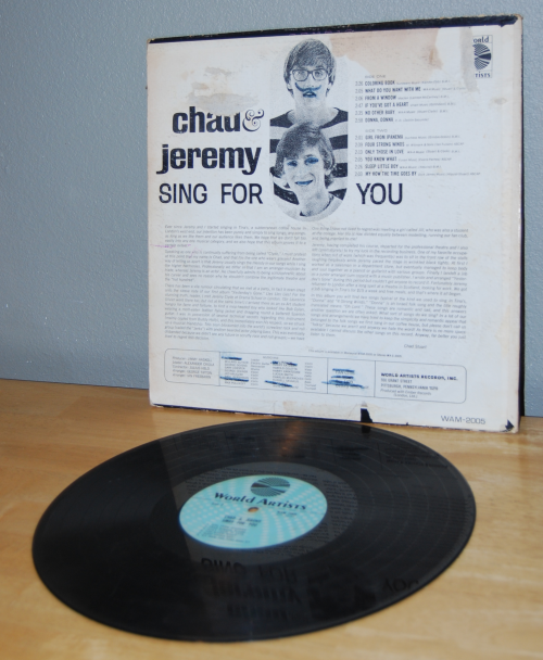 Chad and jeremy vinyl x